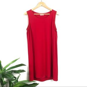 Pleione red shift tank dress chiffon embellished